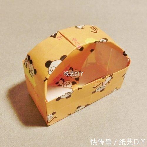 维族帽折纸步骤