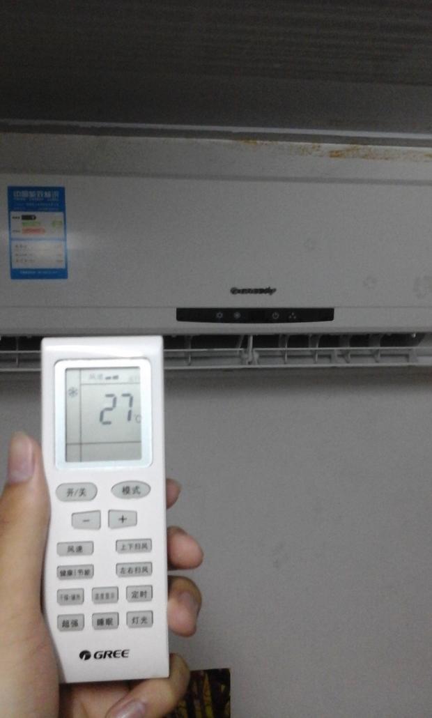 格力空调内机显示屏不亮