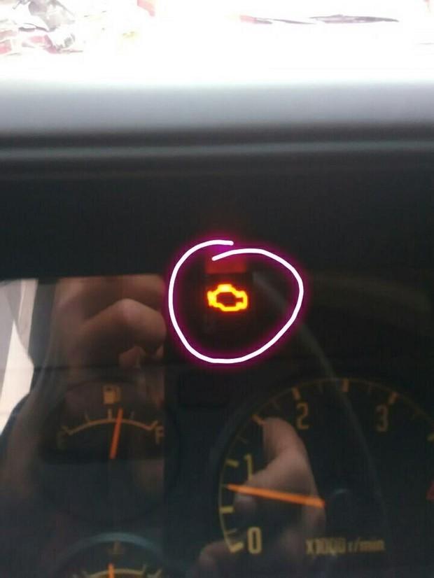 五十铃货车仪表台这个灯亮了代表什么?