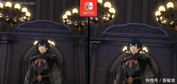 《火焰纹章: 风花雪月》主机、掌机模式实机画面效果对比
