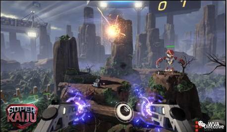 Super kaiju签约竞技时代,成为WVA超级联赛指定VR电竞产品