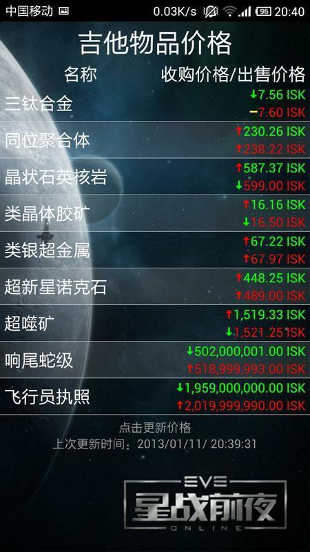 EVE市场工具截图4