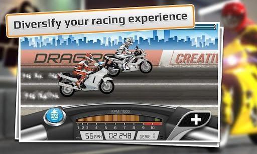 短程高速摩托赛 Drag Racing Bike Edition截图2