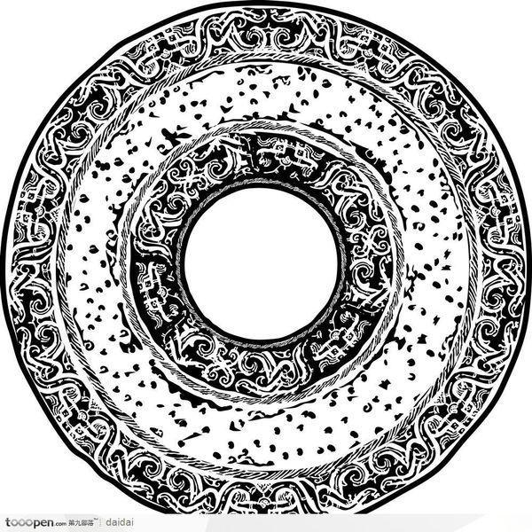 求古风元素的PS笔刷素材,例如 桃花瓣,玉璧,墨迹,金鱼等