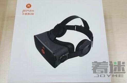 4K级别VR头显小派VR硬件开箱 最好的VR显示设备初体验