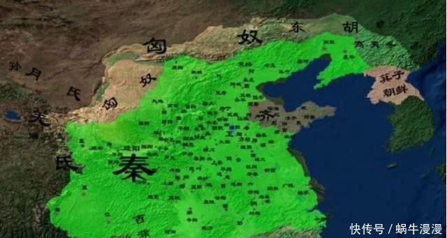 如果战国有地图的话,估计六国会直接投降,因为