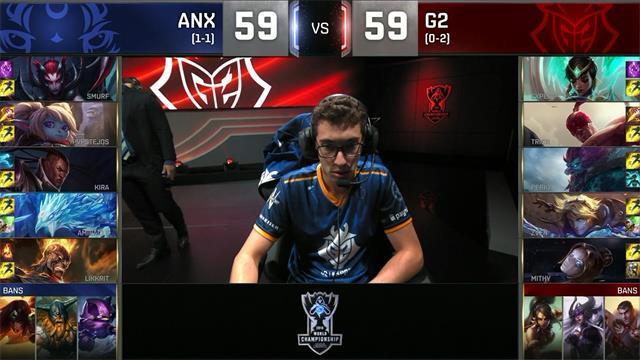 ANX冰凤凰加波比完美表现战胜G2