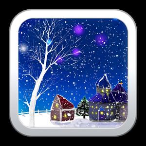 浪漫雪景动态壁纸_360手机助手