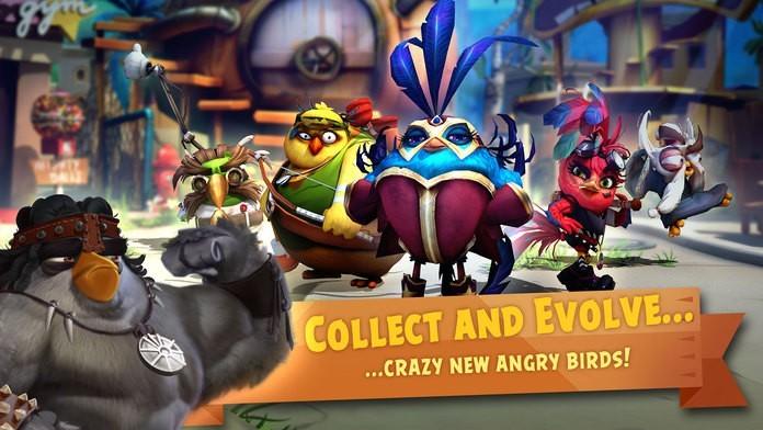 愤怒的小鸟进化iOS版测试