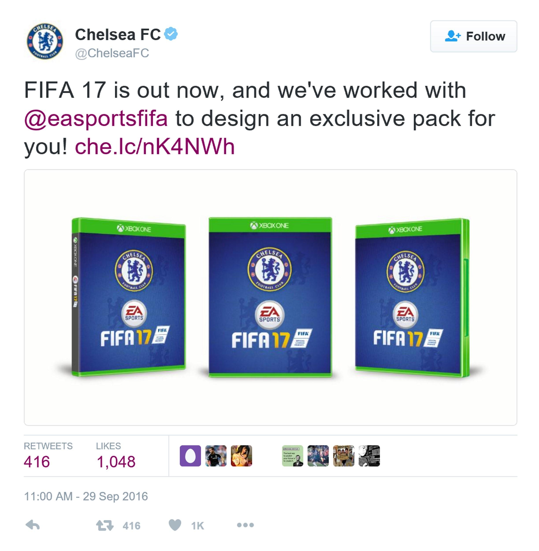 《FIFA 17》正式版登陆英国