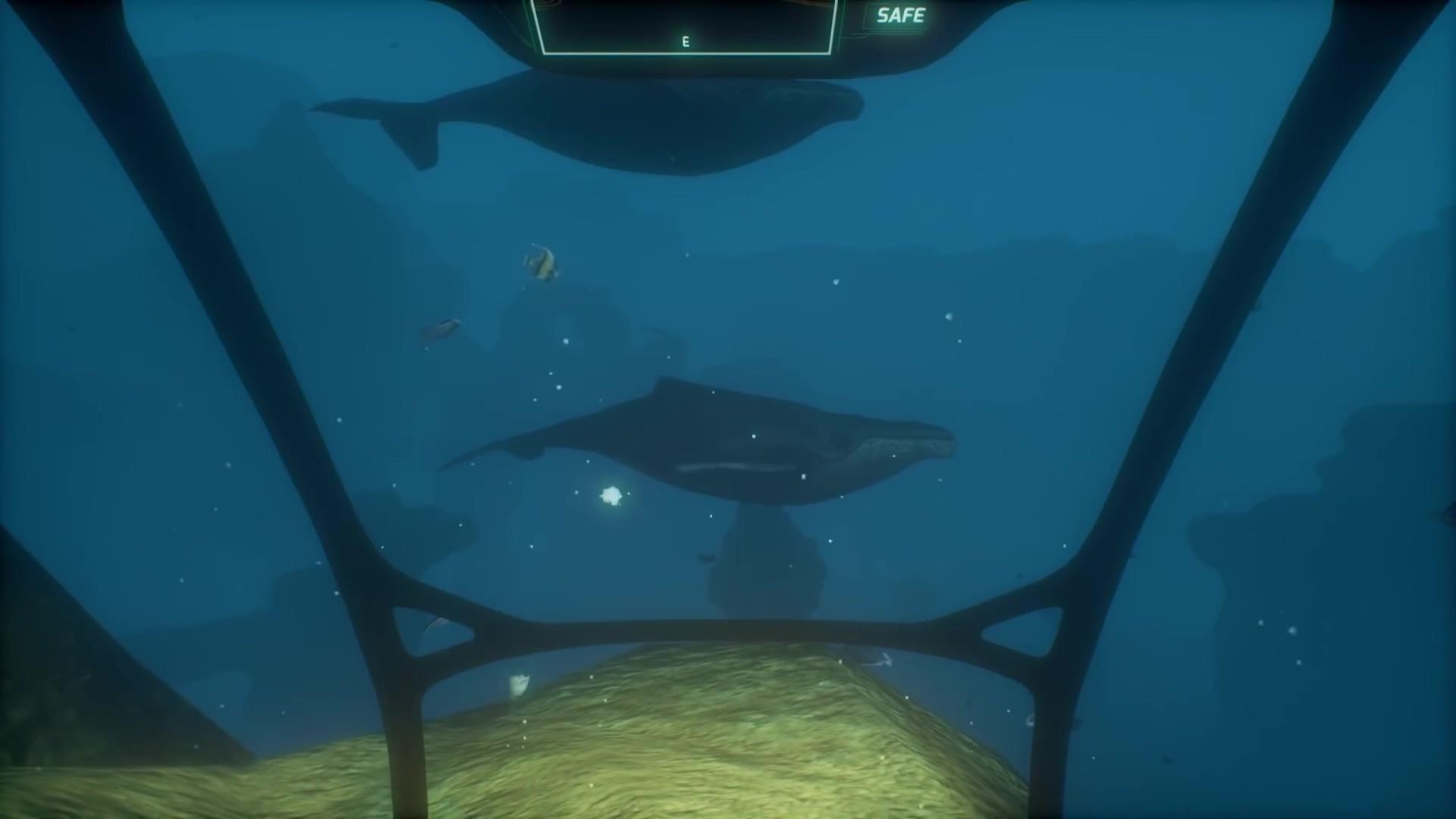 深海惊悚游戏《铁鱼》即将登陆steam