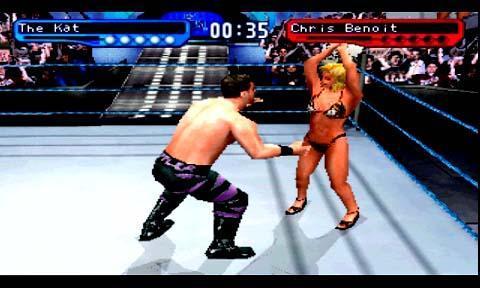 世界职业摔跤联盟2 WWF Sd 2截图4