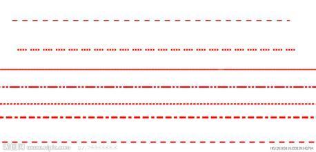 烟盒手工制作虚线图