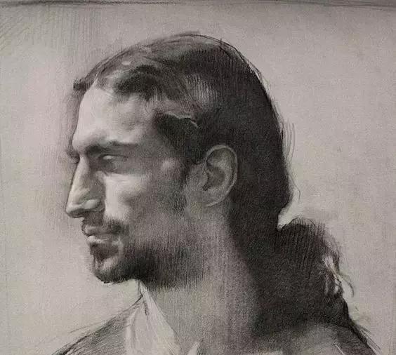 俄罗斯素描画家怎么处理素描关系 ART 第4张