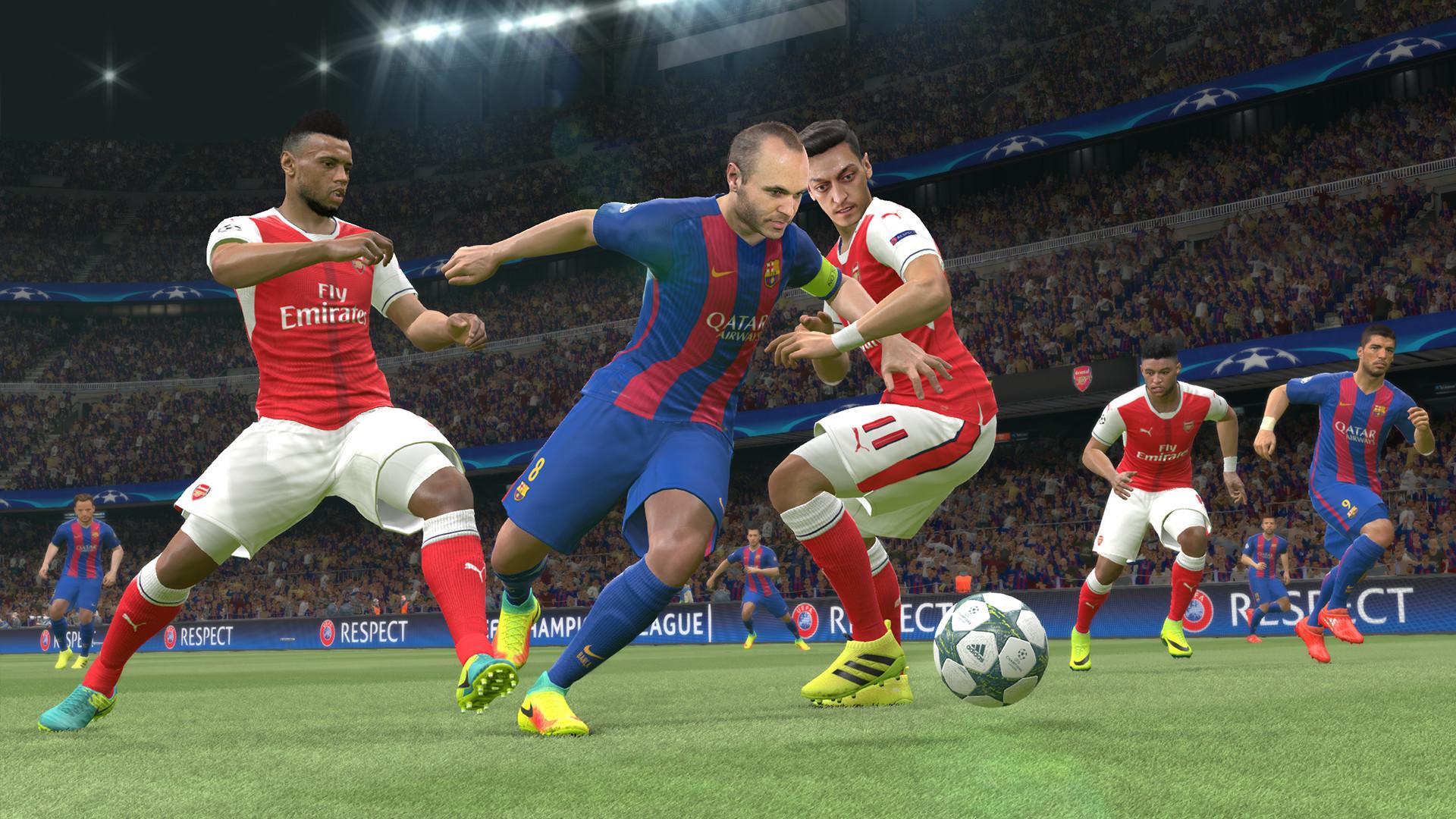 《实况足球2017》Steam国区接受预购