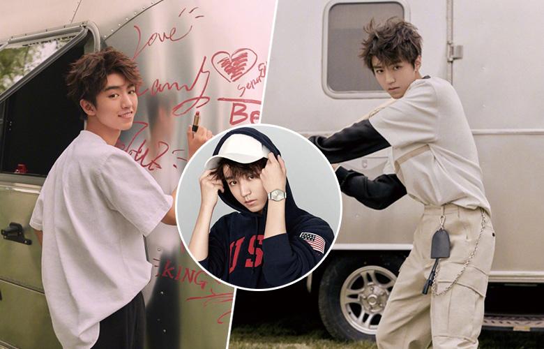 王俊凯最新封面大片曝光 化身棒球少年诠释青春十八