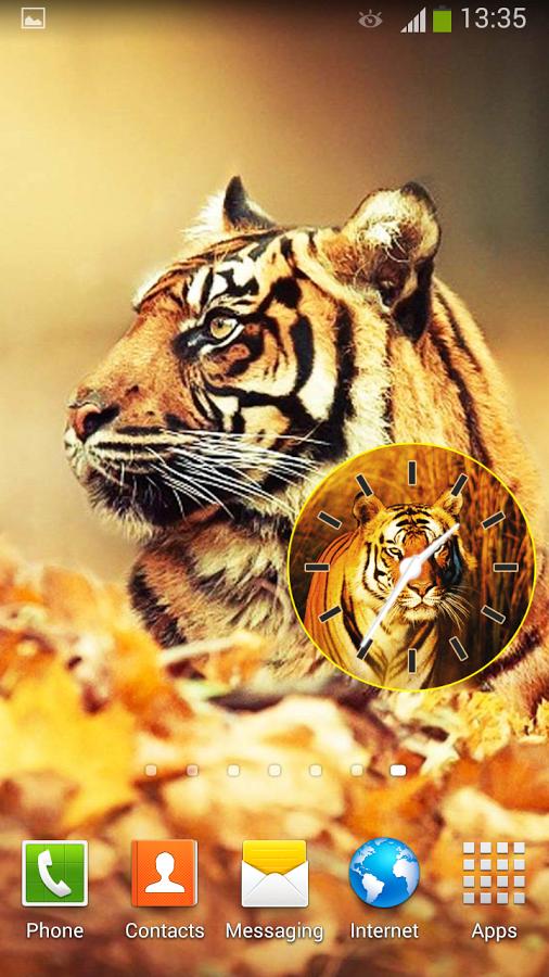 享受这些野生动物,并用最现代的模拟时钟装饰你的智能手机!