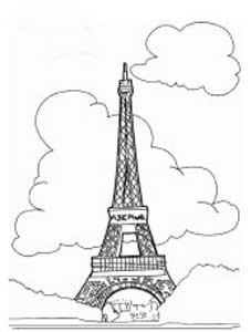 巴黎铁塔简笔画方法_好搜问答
