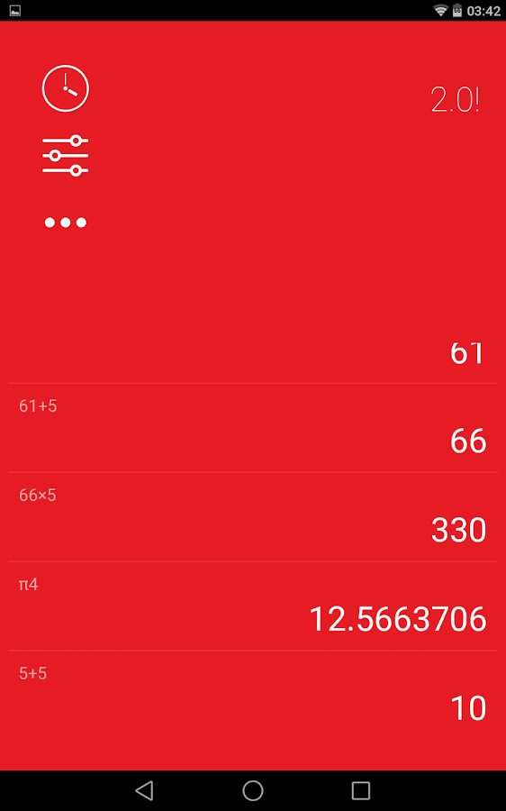 应用 日常生活 numix计算器
