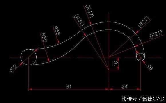 福利图纸,CAD基础练习图纸步骤图来了!吗是中标新手距FL高指的地底图片