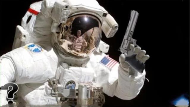 在太空中开枪,子弹究竟能有什么反应?解开了多年的疑惑!