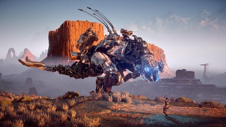 《地平线:黎明时分》游戏截图