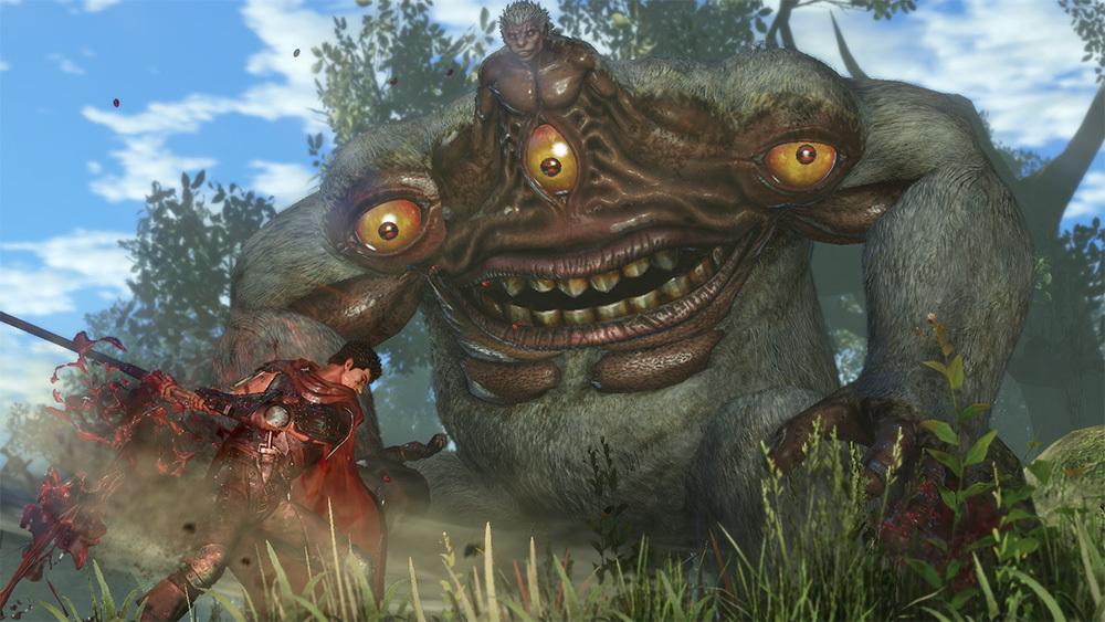 《剑风传奇无双》曝光更多游戏截图