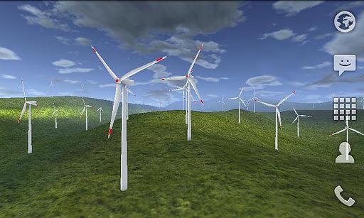 壁纸主题 3d风车动态壁纸下载,—喜爱app 软件