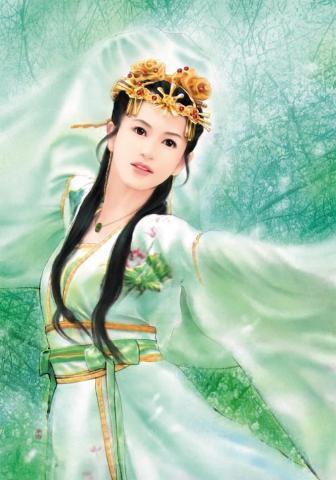 赵飞燕,中国古代美人,她出生在江南水乡姑苏.