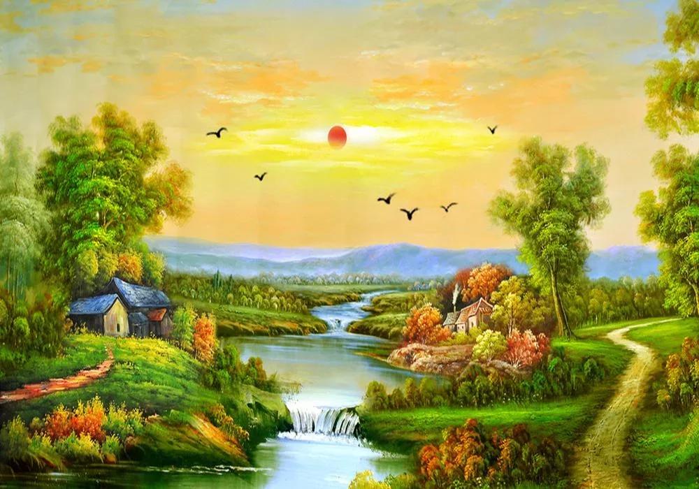 美丽自然风景拼图
