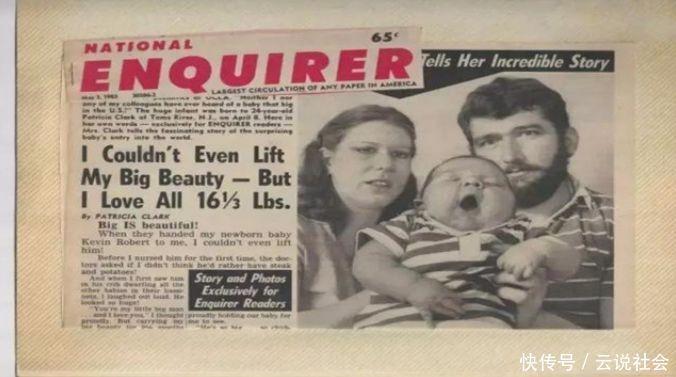 """曾轰动全美的""""巨婴""""出生重达17斤,36年过去,如今怎么样了?"""