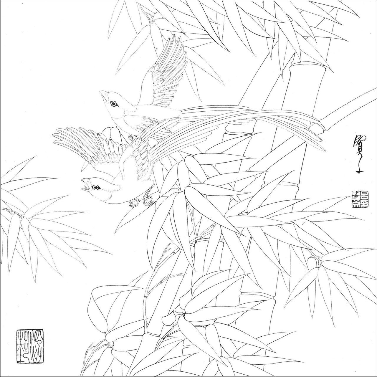 杏花树简笔画画法步骤