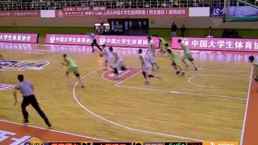 cuba王肖文反击挂筐暴扣青海师大核心霸气外露