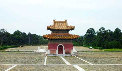 清皇陵建筑特种邮票