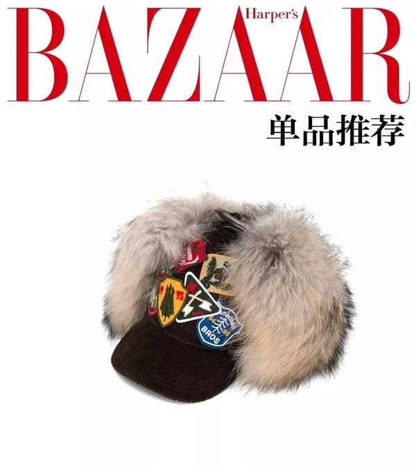 """北京的雪你爱下不下,我先戴上毛毛帽挡住阵阵""""妖风""""!"""