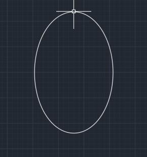 CAD怎么样画椭圆方法一