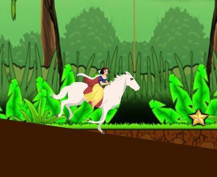白雪公主骑马