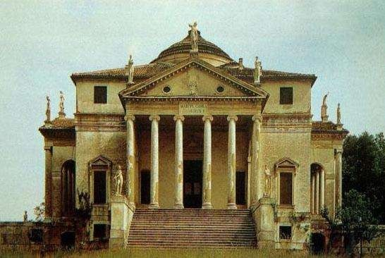 帕拉第奥设计的圆厅别墅