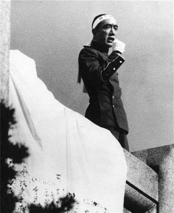 """三岛由纪夫发表""""最后的演讲"""""""