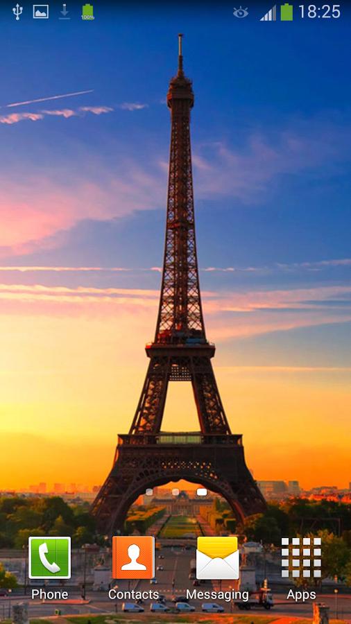 """下载"""" 巴黎埃菲尔铁塔壁纸"""",享受纯美您的智能手机或平板电脑的屏幕上"""