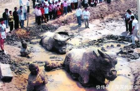 黄河45吨的铁牛,为何镇河1200年还毫发无损