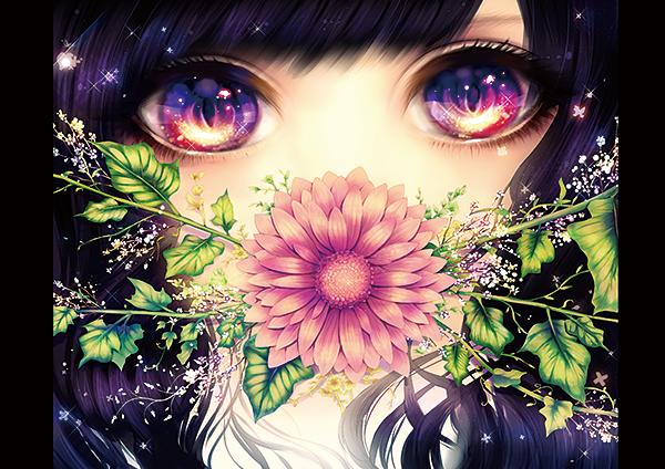 漫画少女所有眼睛