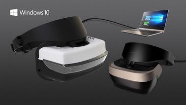 微软推出VR头戴显示器价格亲民 预计2017年推出