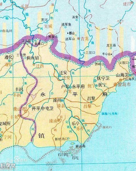清朝永平府昌黎县怎么划分