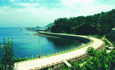 大长山岛景区,三元宫,马祖庙,铁山仙女湖,月亮湾 机场 大连长海机场
