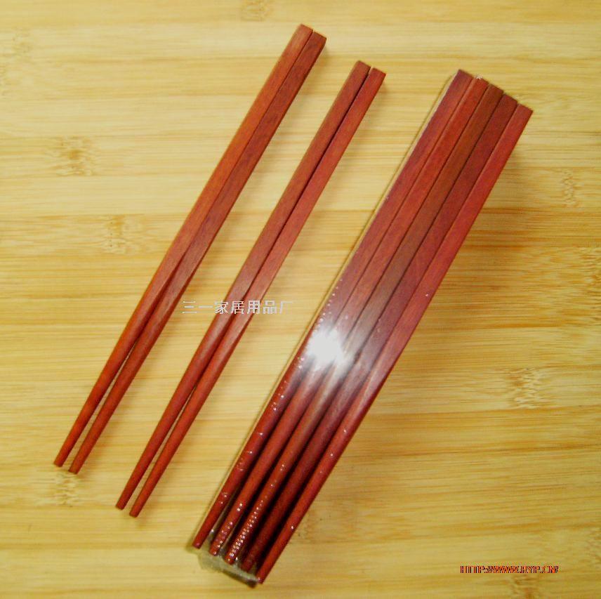 红木筷/原木筷/工艺木筷;; 供应红檀木筷子/家用原木筷;; 红木筷/原木