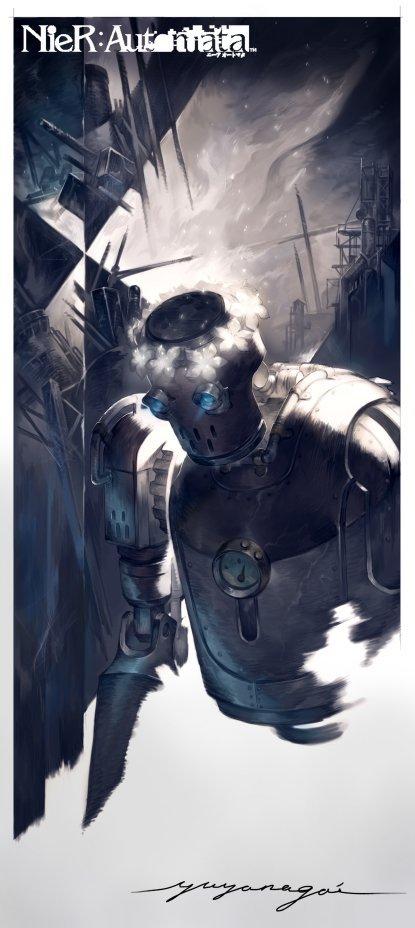 《尼尔:机械纪元》角色设计图