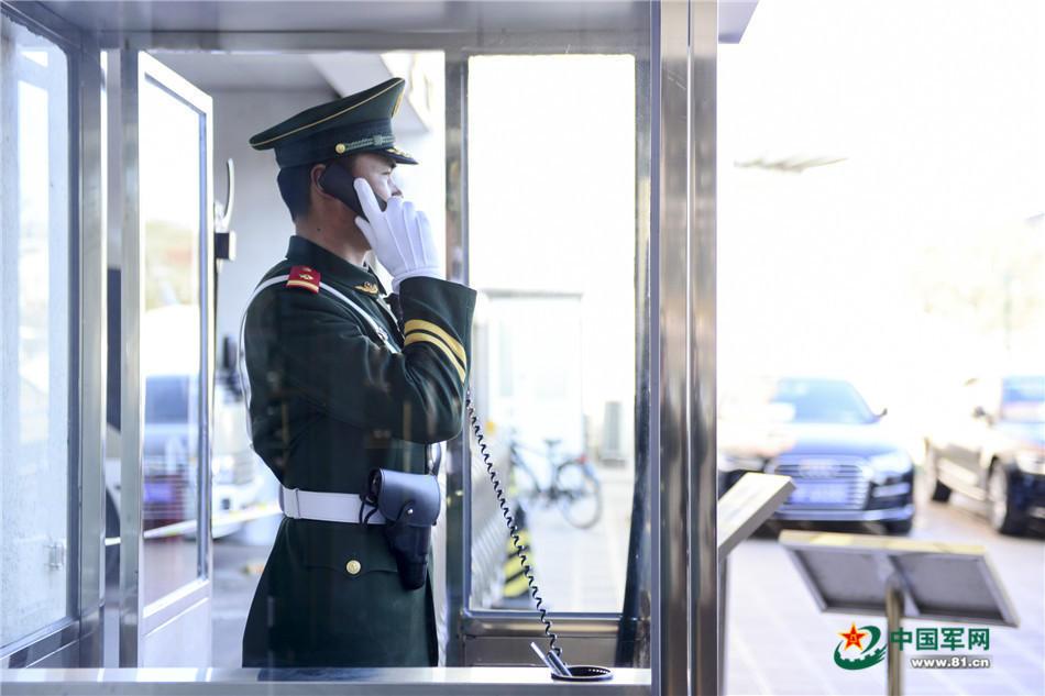两会时刻 安保执勤官兵在哨位迎接盛会 - 周公乐 - xinhua8848 的博客