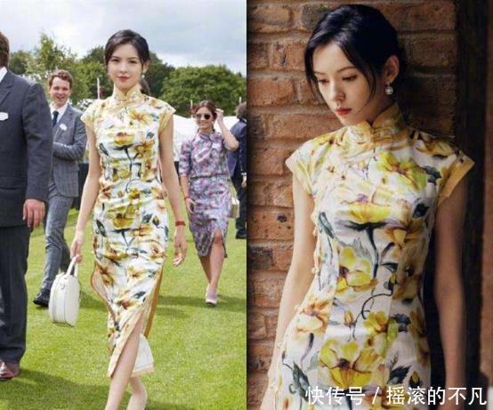 中国的旗袍到底有多美,看看她们穿上后你就知道了,尽显东方韵味