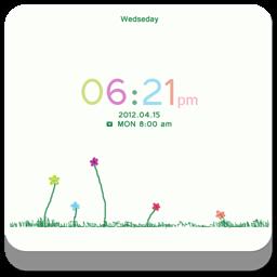 Z彩色夏季 GO锁屏主题